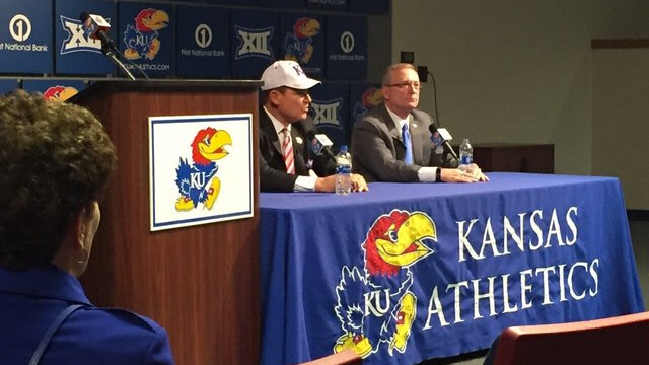 KU football fans energized by Les Miles' hiring