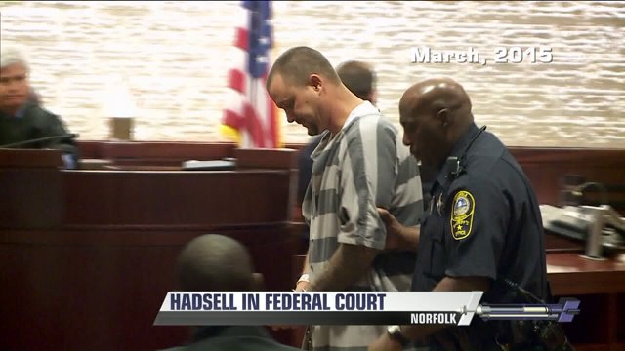 Wesley Hadsell indicted on possession of ammunitioncharges