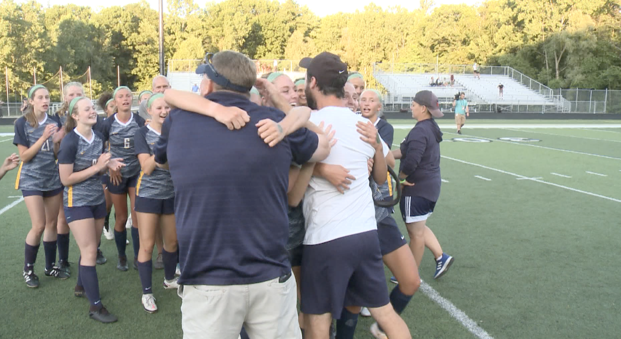 North Muskegon celebrates state semifinal win