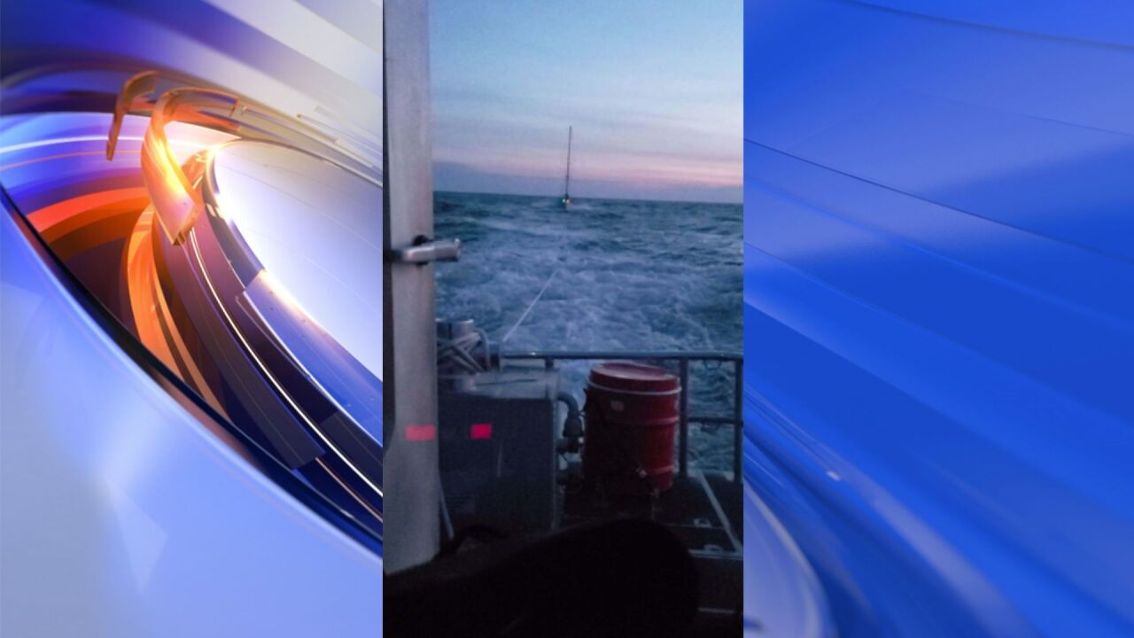 Coast Guard assists disabled, adrift vessel in the Chesapeake Bay