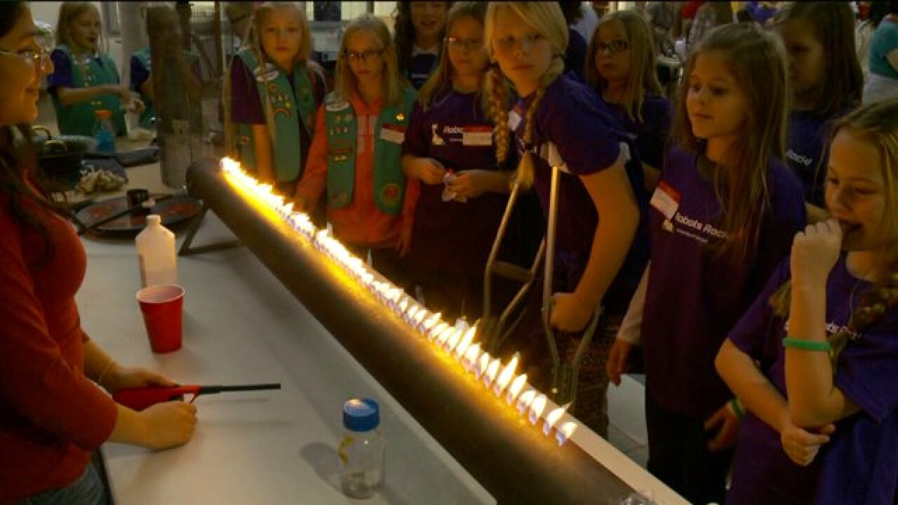 U of U hosts day of engineering for Girl Scouts