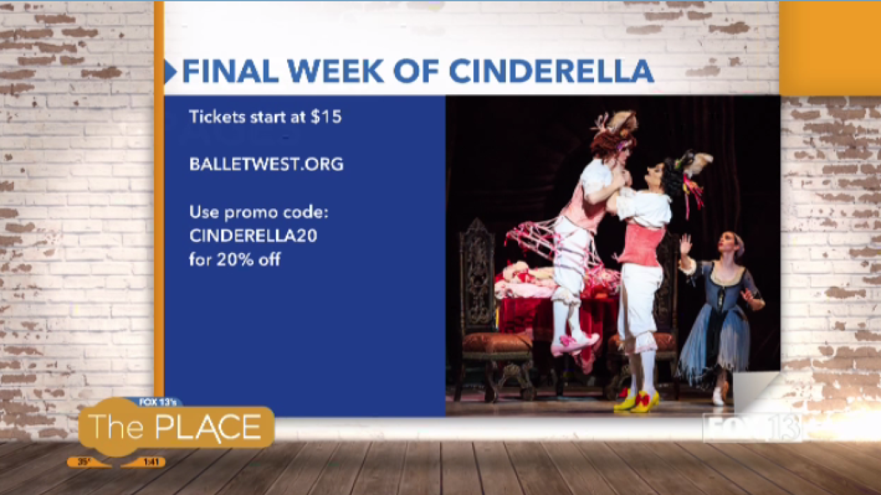 Don't miss the final week of Ballet West'sCinderella