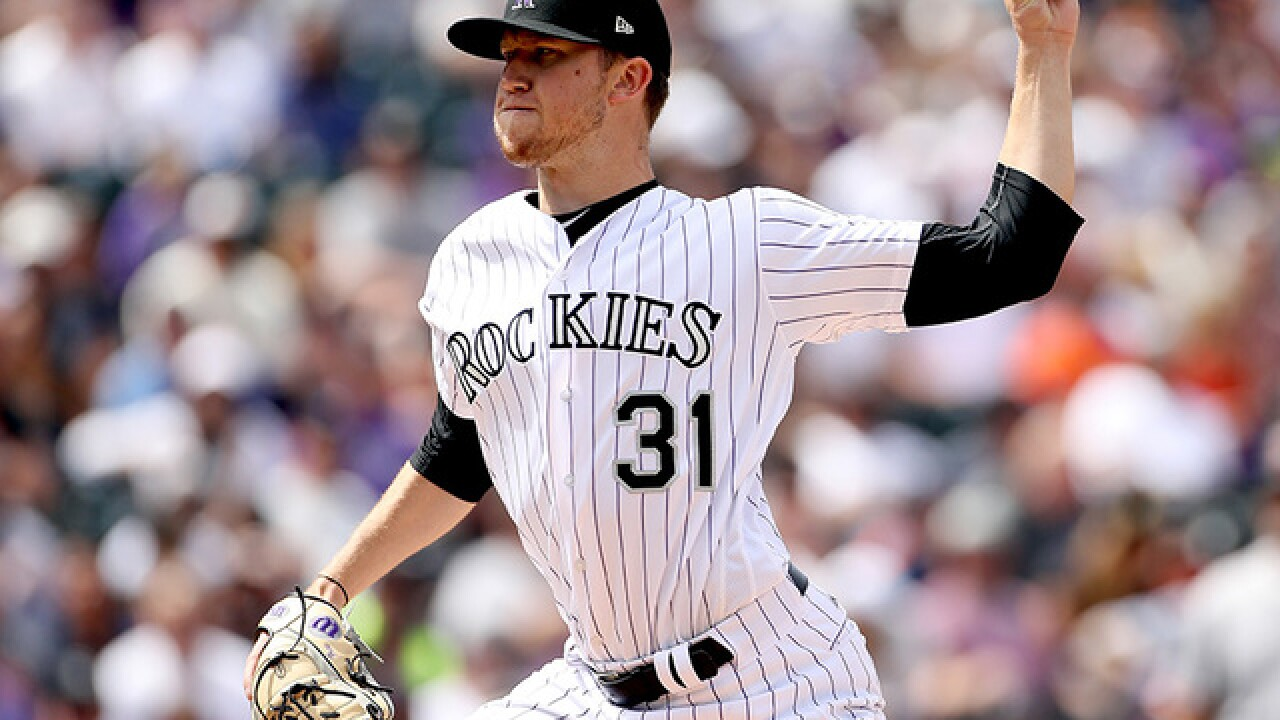Denver's own Kyle Freeland won his 7th game of the season as the Rockies beat the Indians 8-1
