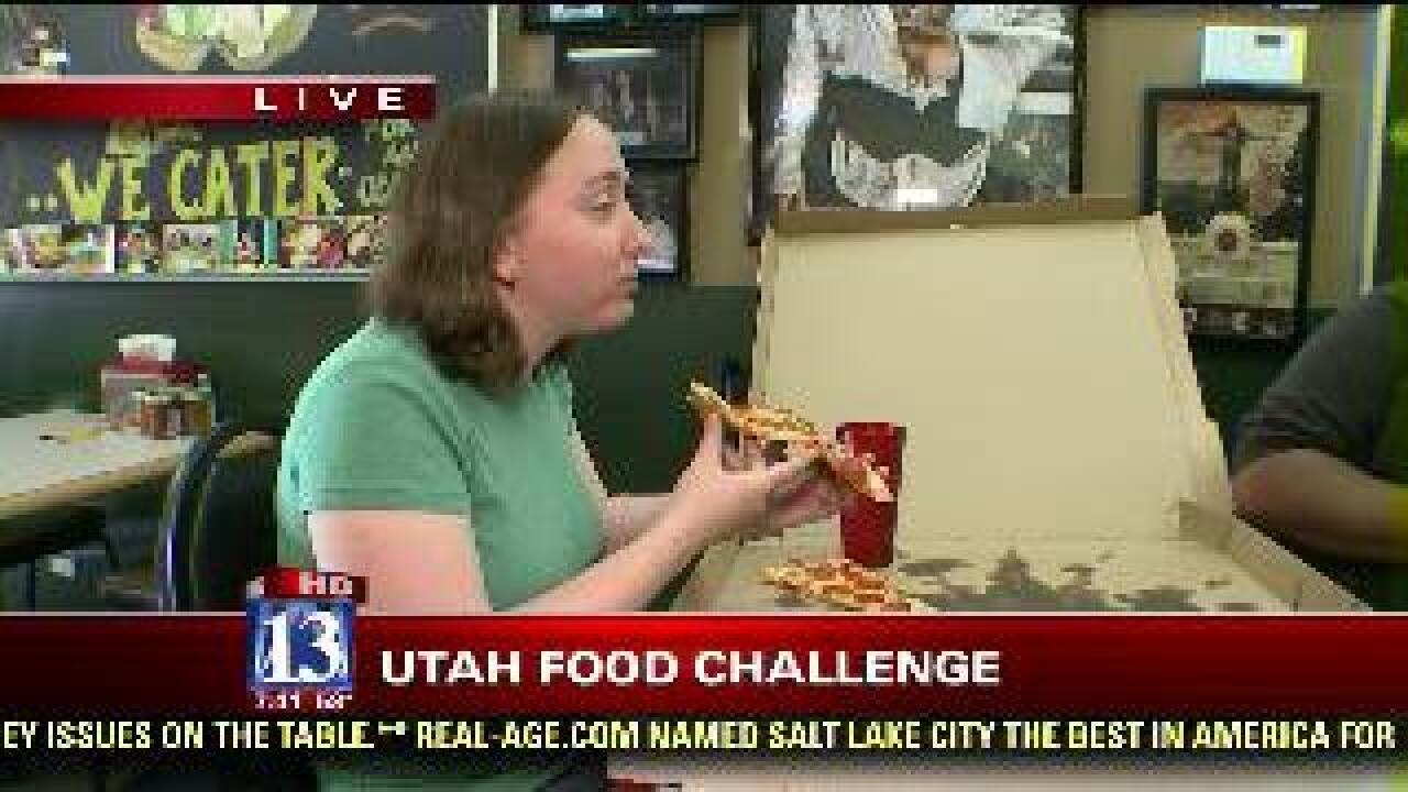 Food challenge: 'The Beast' pizza