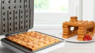 Lego Waffle Maker Lets You Play With Your Food