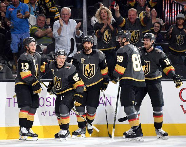 PHOTOS: Las Vegas Golden Knights start season strong