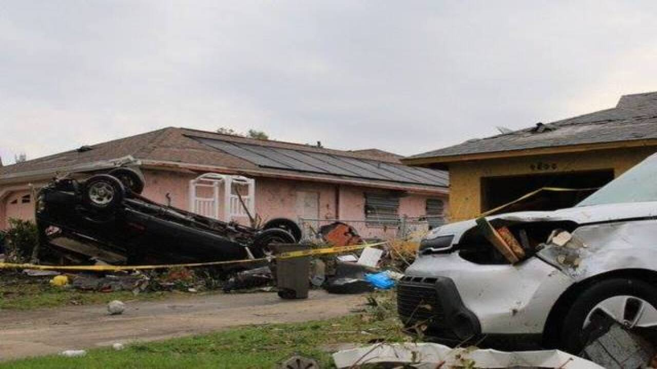 178 buildings damaged by Cape Coral tornado