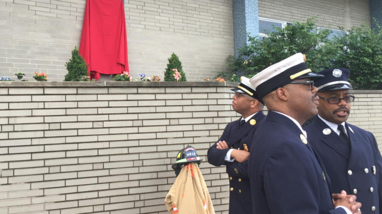 CFD to unveil memorial plaque for Daryl Gordon