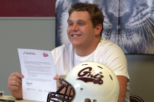Zac Evans Montana Grizzlies football signing
