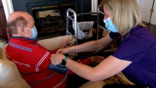 VNA nurse Rebecca Shanks