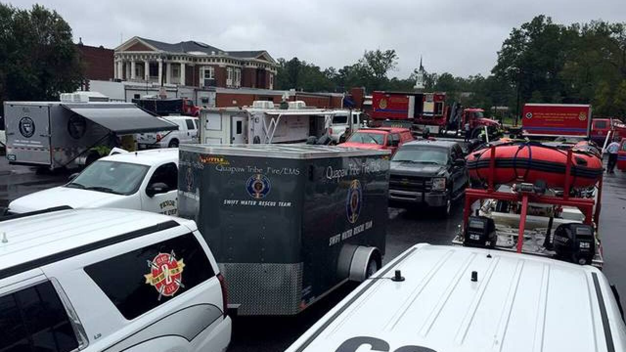 Local teams on front lines for Florence response