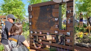 PHOTOS: Las Vegas Healing Garden one year later