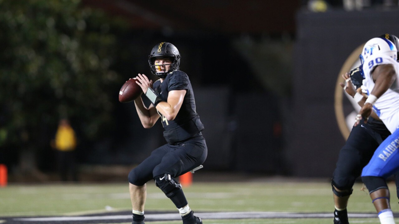 Vanderbilt Beats Area Rival Middle Tennessee 35-7