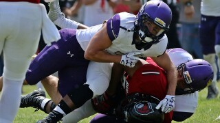 Yotes Moore Becomes 1st-Ever 3-Time All-American