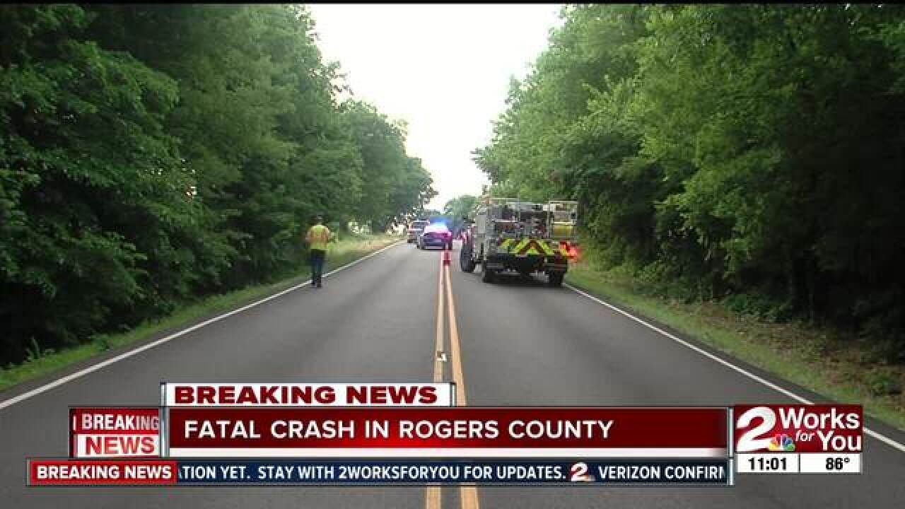 Two vehicles involved in deadly car crash on Highway 20