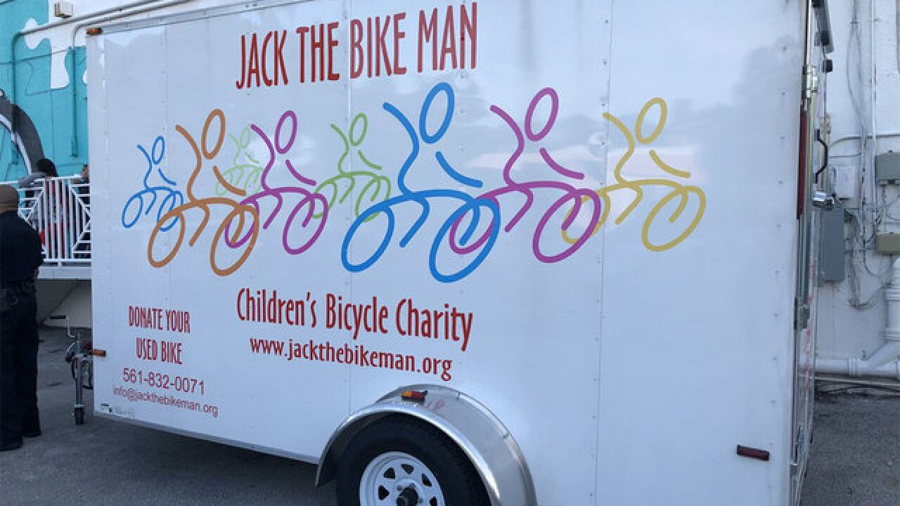 'Jack the Bike Man' gives thousands of bikes to kids in need