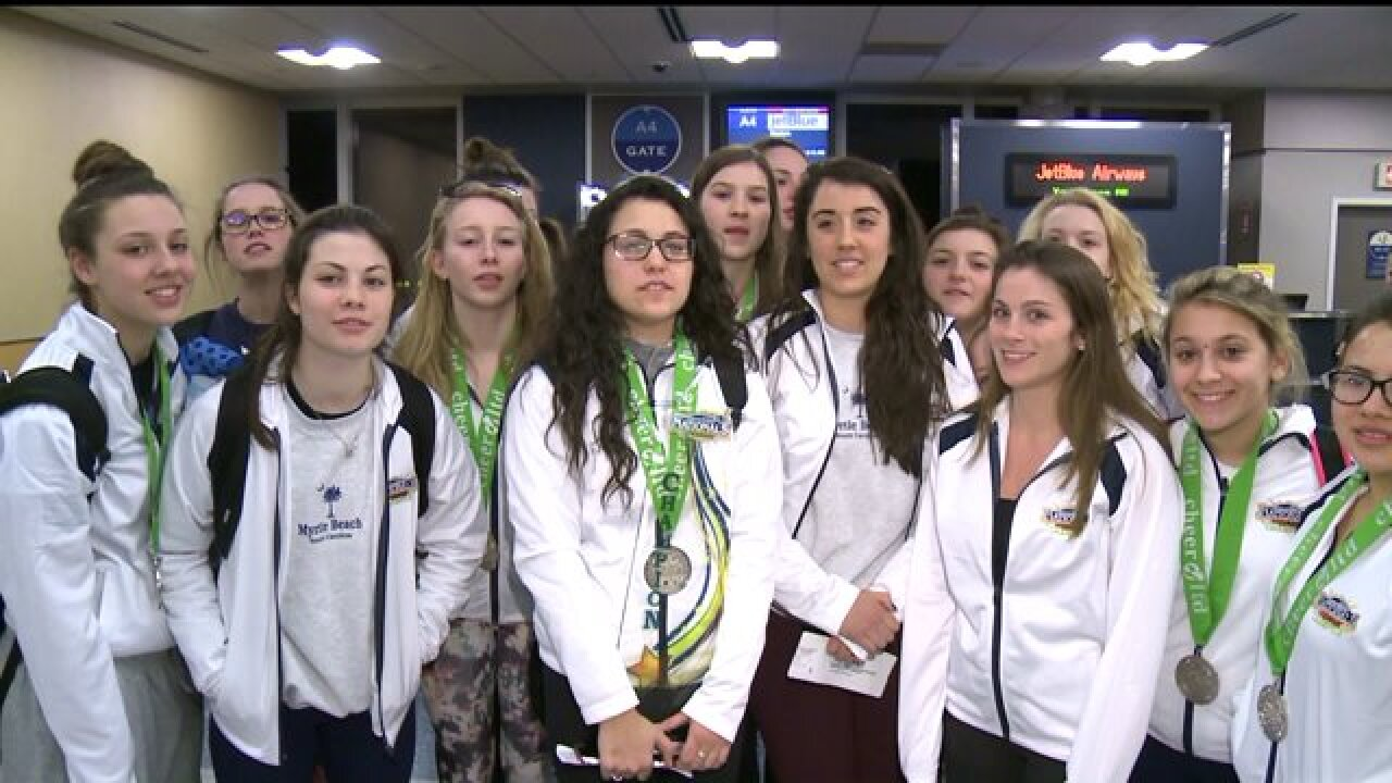 JetBlue to the rescue, stranded cheerleaders saved from Richmond International Airport