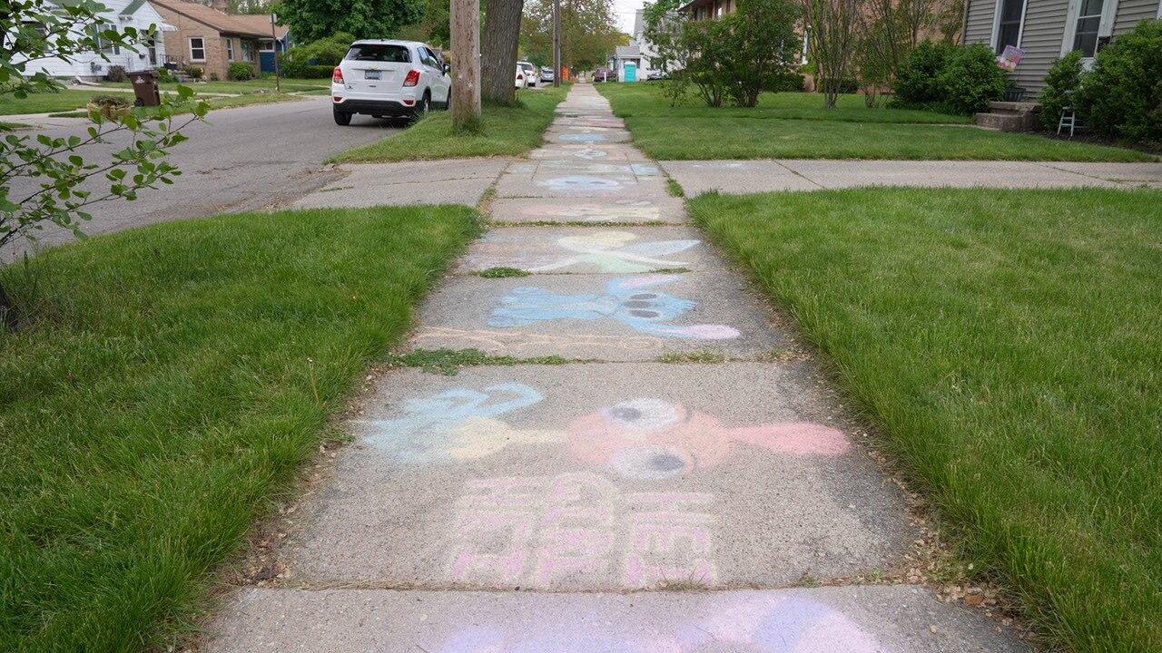 Maplewood Avenue in Lansing