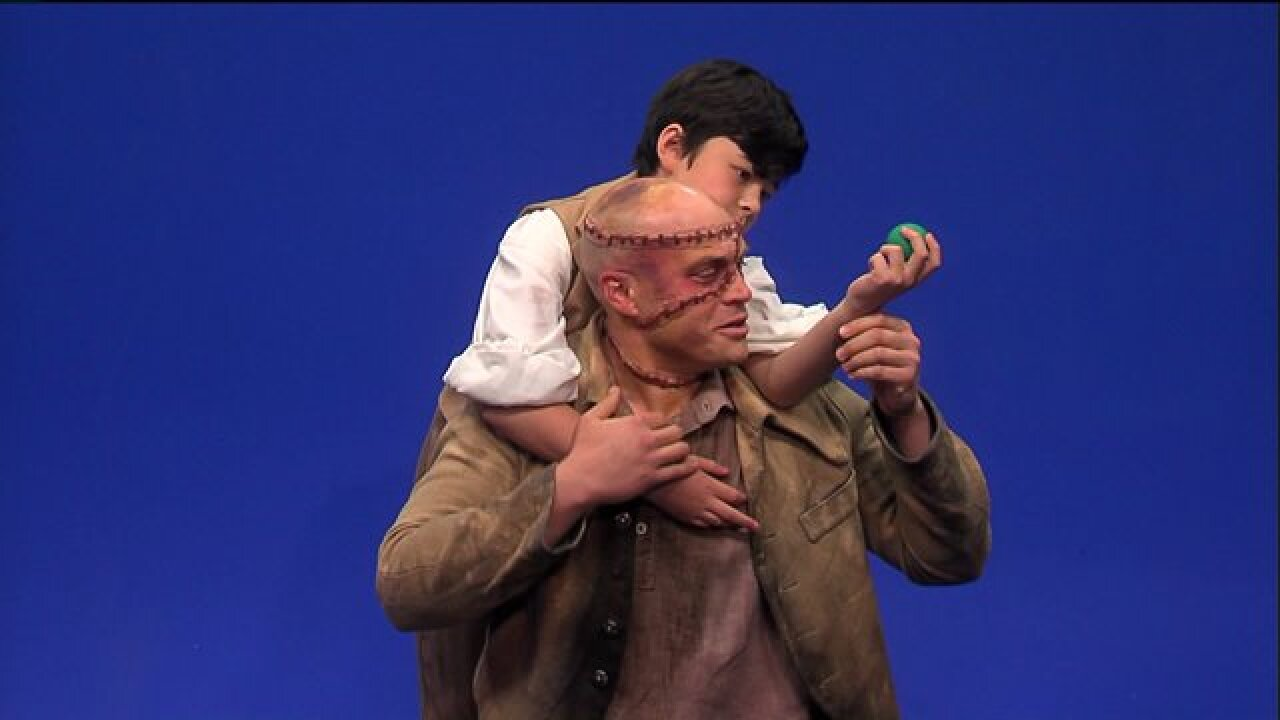 Enjoy a scene from Theatre VCU's latest offering, 'Frankenstein: Dawn of a Monster'