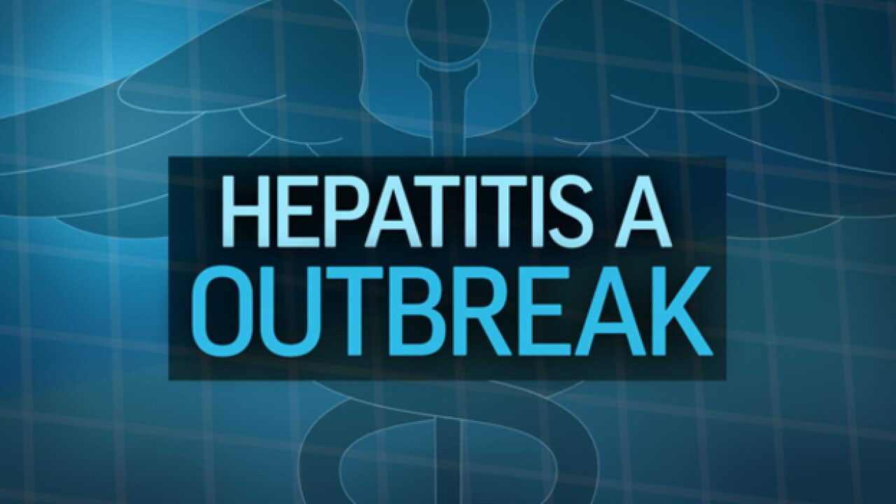 Hepatitis A Outbreak Grows To 102 Cases
