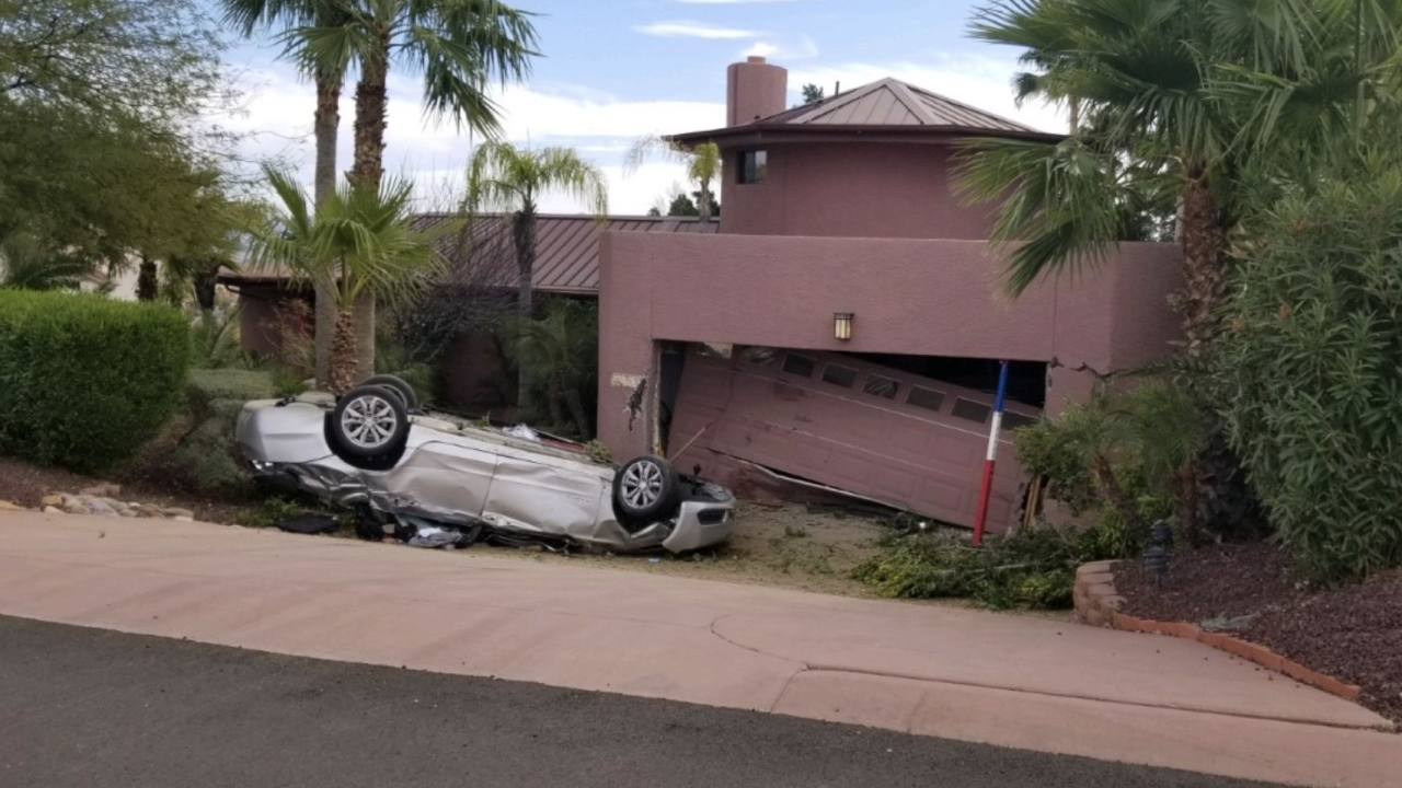 Car into home in Fountain Hills