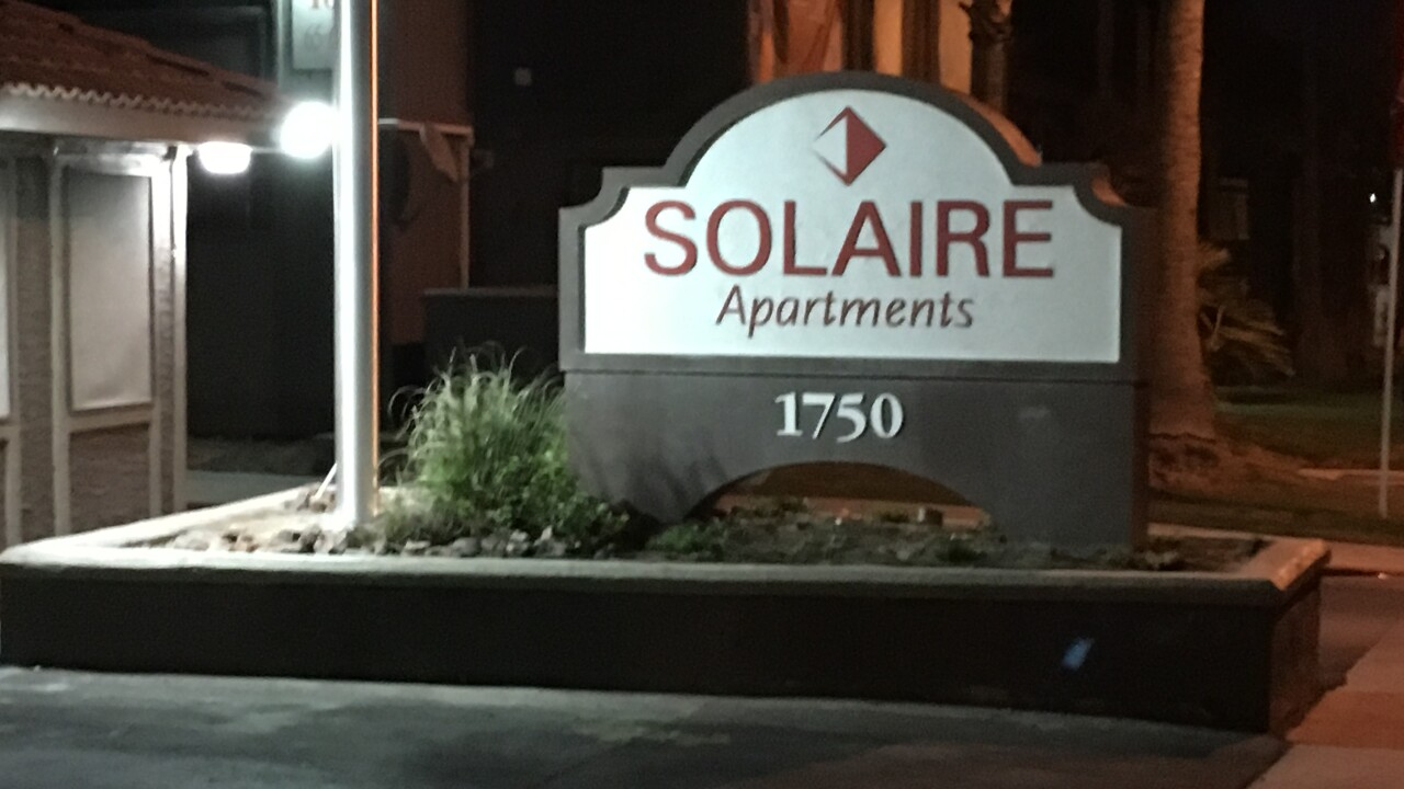Photos of the Solaire Apartments located near Maryland Parkway and Karen Ave.
