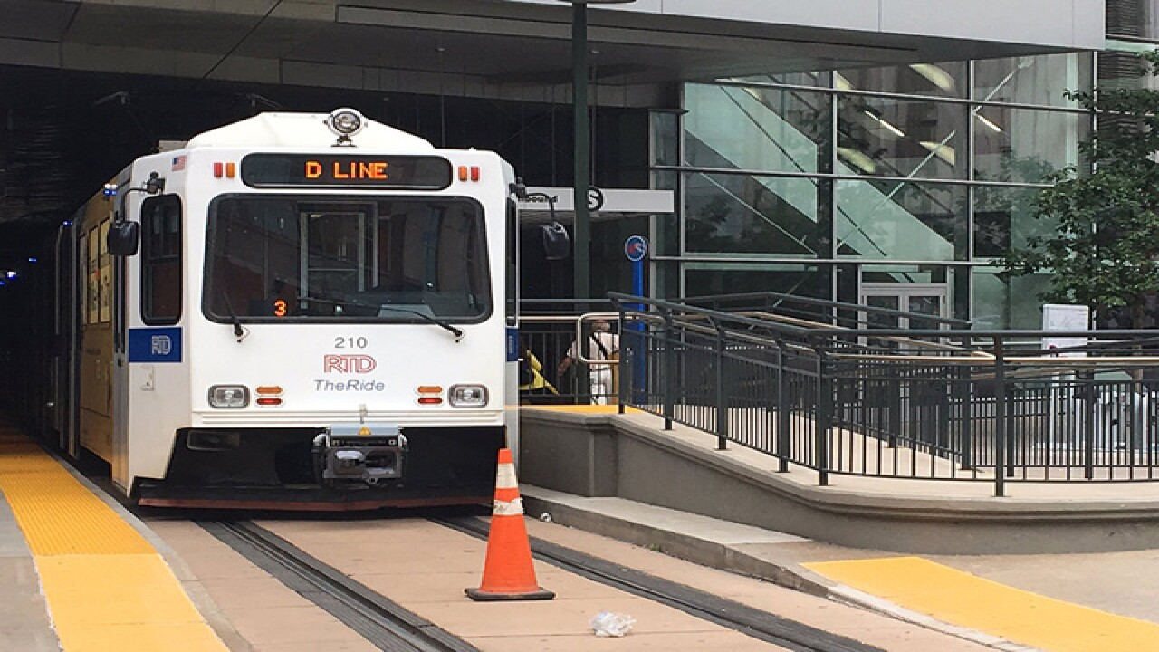 RTD light rail, bus lines affected by gas leak