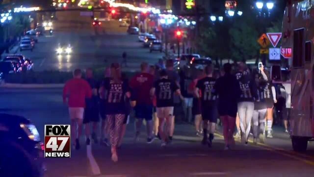 Law Enforcement Torch Run in Jackson