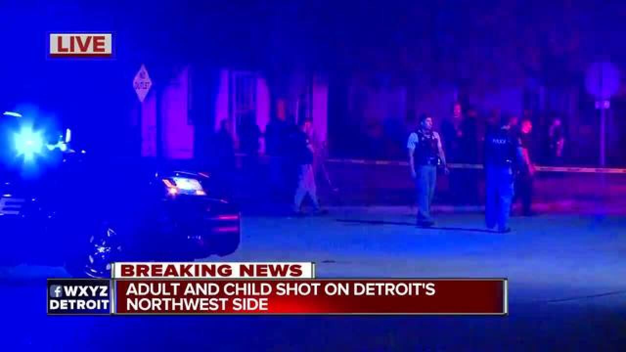 Multiple people shot on Detroit's northwest