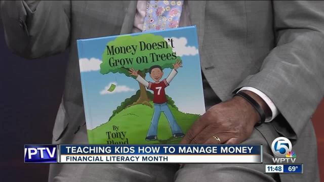 Teaching kids financial literacy