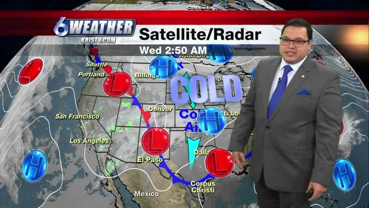 Juan Acuña's weather for Feb. 10, 2021