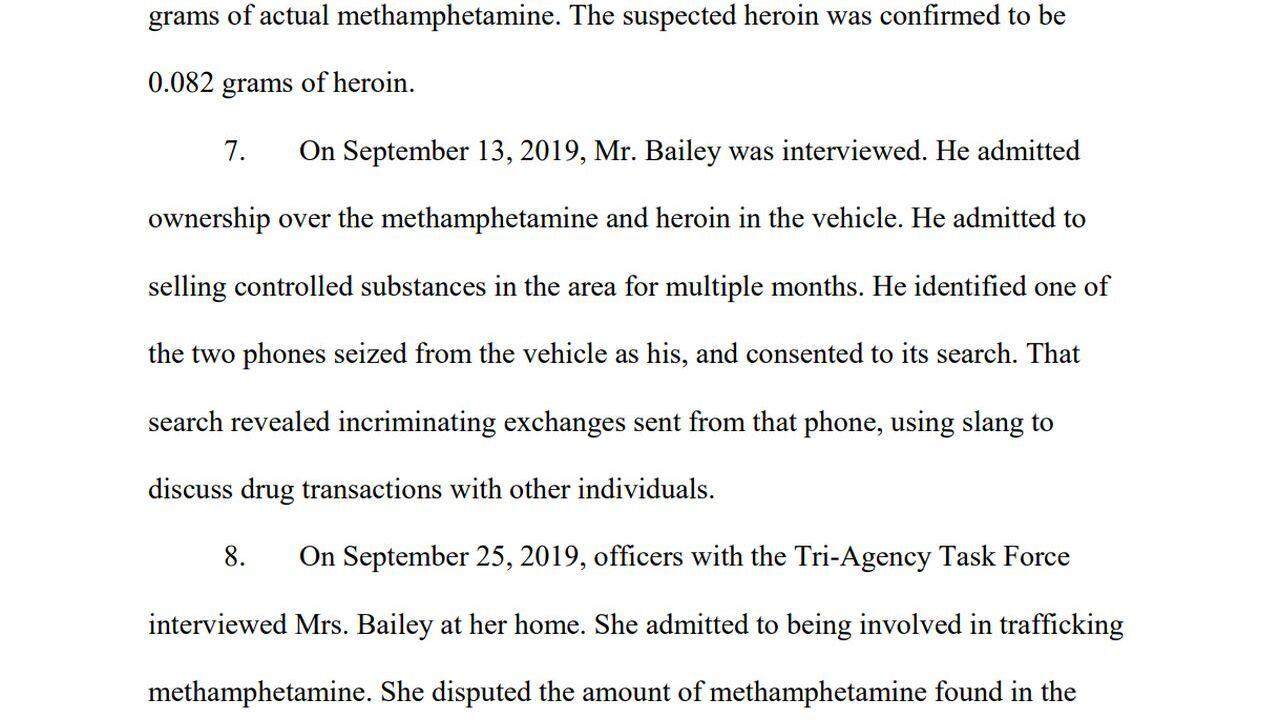 Big Sandy couple sentenced for distributing meth