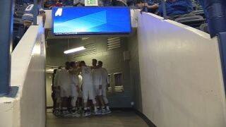 Air Force tops Colorado Christian in exhibition tune-up