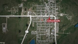 Bicyclist dies after colliding with a pickup truck in Browning
