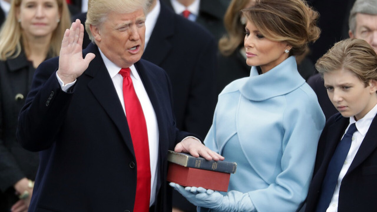Live coverage: Inauguration Day in Washington DC