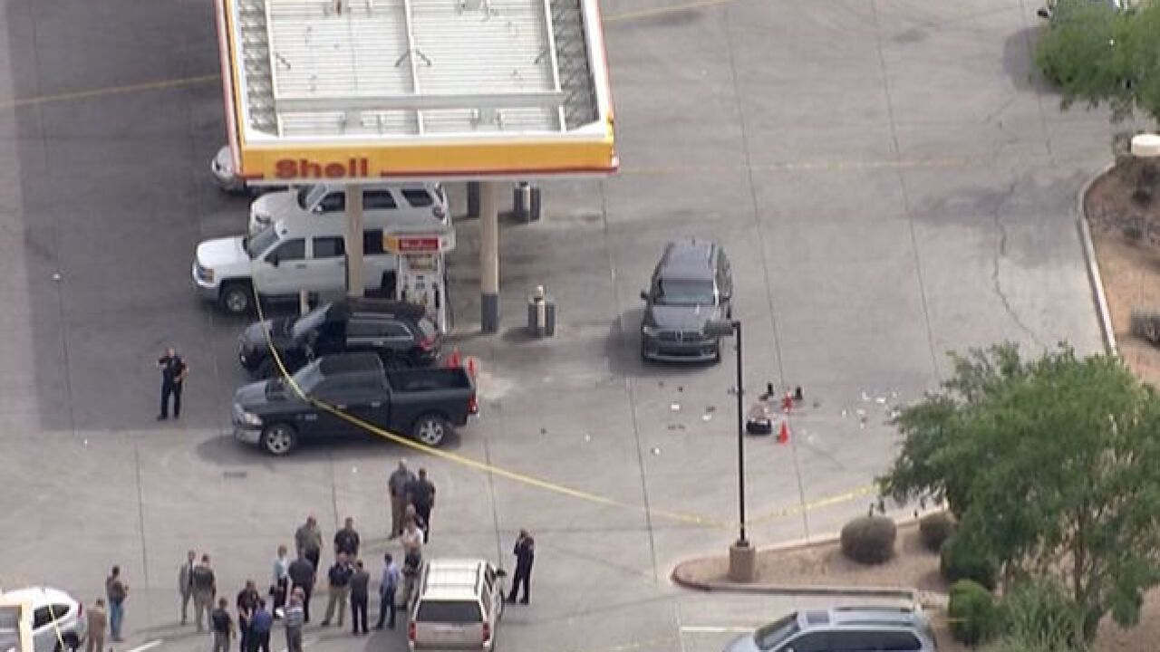 Mesa PD involved in shooting at Circle K