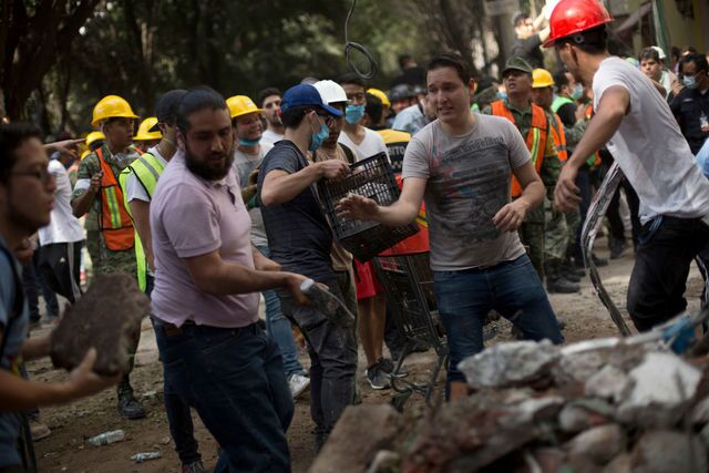 Photos: Recovery effort continues after deadly Mexico earthquake