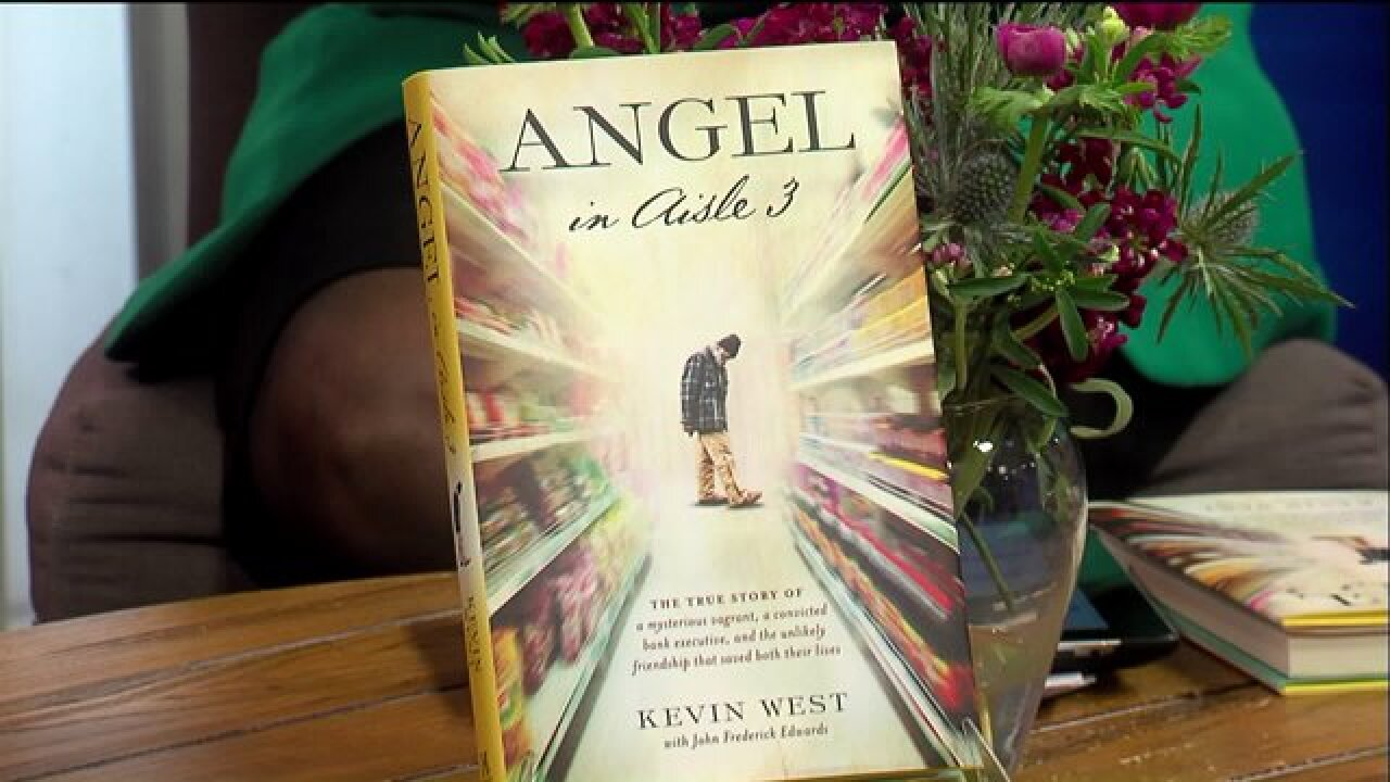 "Author Kevin West introduced his latest memoir, ""Angel In Aisle 3"""