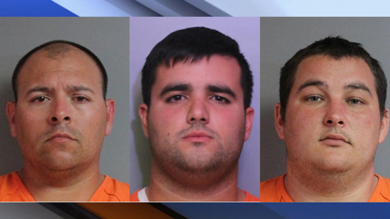 Three Florida Corrections Officers arrested for smuggling cash into jail, Sheriff says