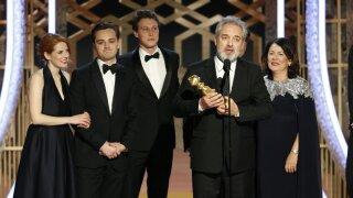 A list of the final Golden Globe Award winners for film, TV