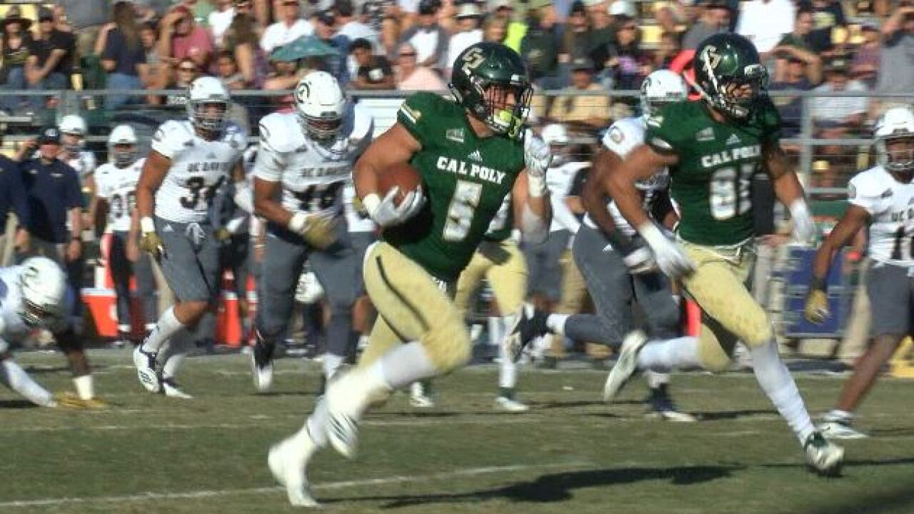 Protheroe climbs the Mustangs' all-time rushing leaderboard