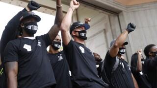 broncos black lives matter protest