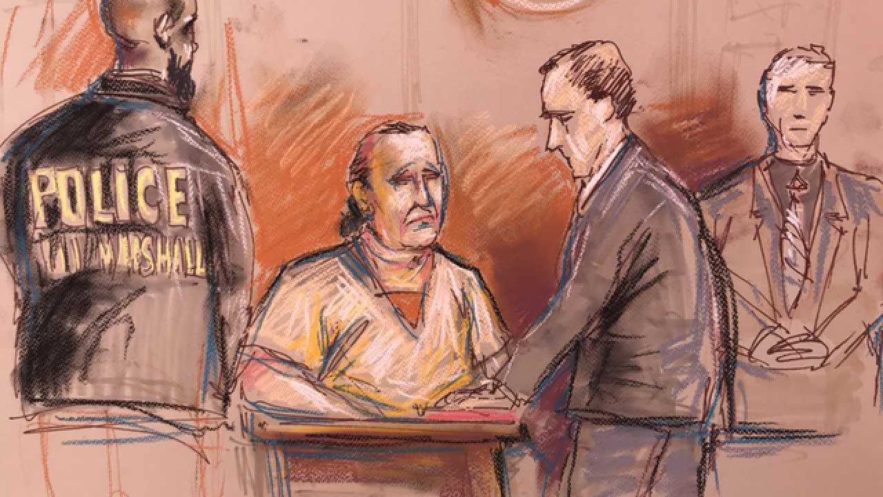 Mail-bomb suspect makes 1st court appearance