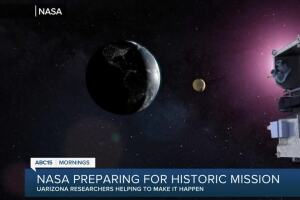 NASA to make history, attempt to land on asteroid with Arizona-headquartered OSIRIS-REx mission