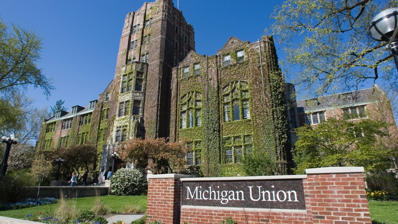 University of Michigan changes name of medicine development center