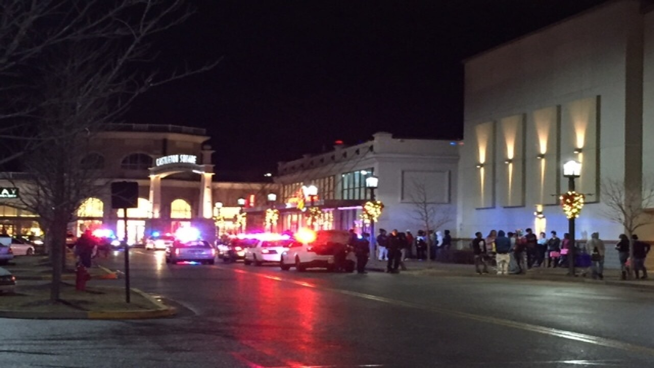 PD: Multiple fights break out at Castleton Mall