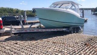 Harvey Oyer Park boat ramp in Boynton Beach