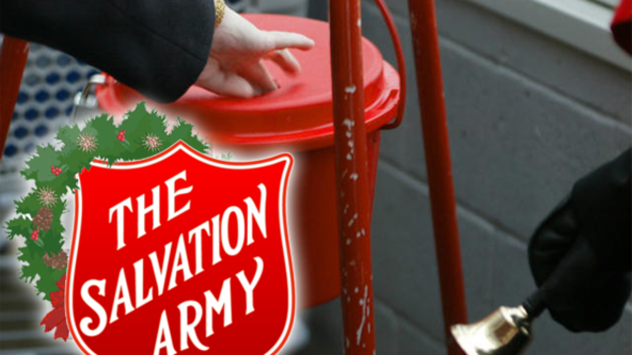 Thief steals Salvation Army kettle in front of south Tulsa Walmart