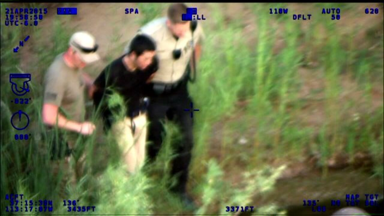 Body cam video released after high-speed chase through Zion NationalPark