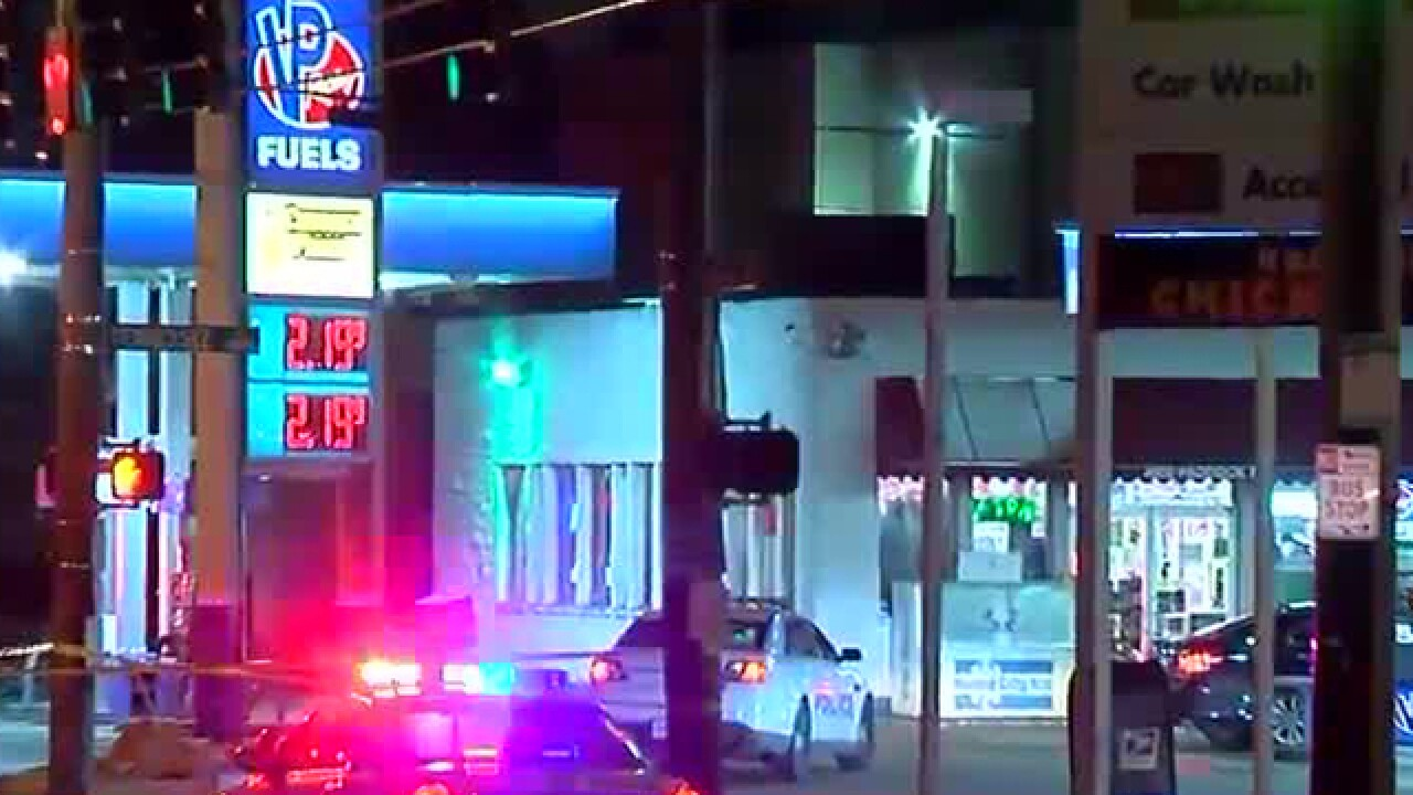 PD: Man fatally shot in face at gas station